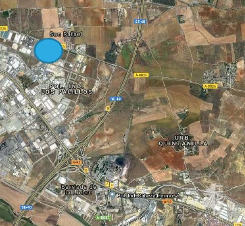 lands venta in alcala de guadaira urbana 6 manzana 2b ue1 sunp13 palillos norte